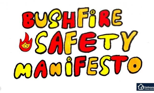 Bushfire Education for Kids -  A Manifesto from Harkaway Primary School