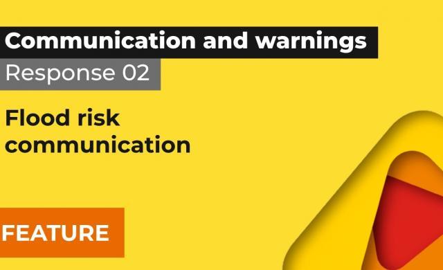 Response 2: Flood risk communication