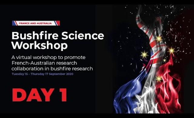 France Australia Bushfire Workshop: Emergency response at the time of a bushfire crisis (day 1 of 3)