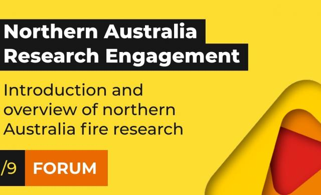 Introduction and overview | Northern Australia Research Engagement Forum (1/9)