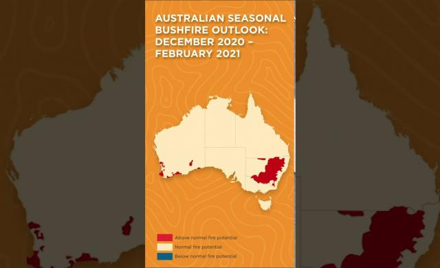 Overview - Australian Seasonal Bushfire Outlook: December 2020 – February 2021 #shorts