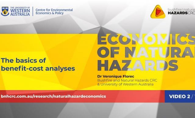 The basics of benefit-cost analyses | Economics of natural hazards (2/10)