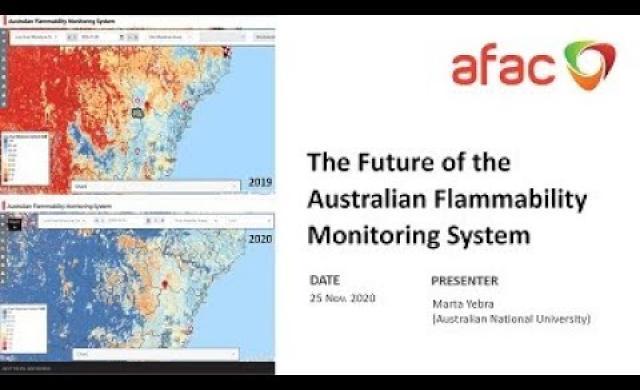 AFAC Webinar: Future of the Australian Flammability Monitoring System