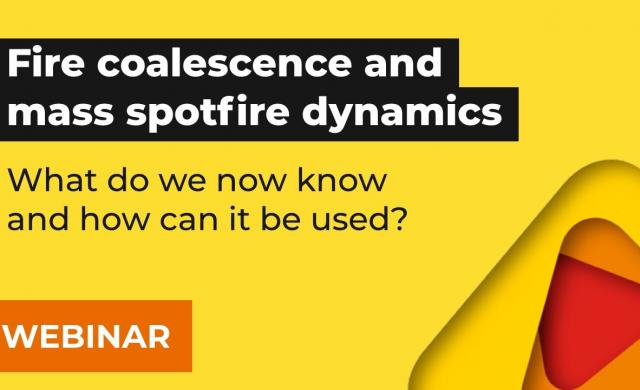 Fire coalescence and mass spotfire dynamics - what do we now know and how can it be used? | Webinar