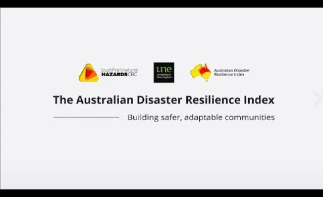 Australian Disaster Resilience Index