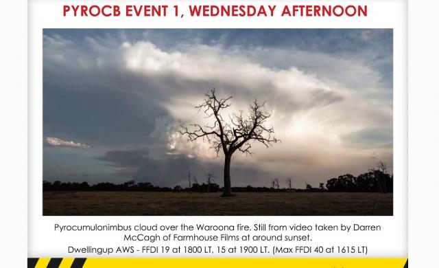 AFAC Webinar: Lessons learned from the Waroona fire