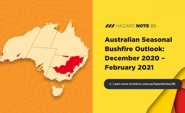 Overview - Australian Seasonal Bushfire Outlook: December 2020 – February 2021