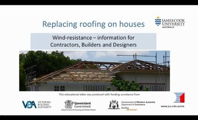Builders - Replacing Roofing on Houses