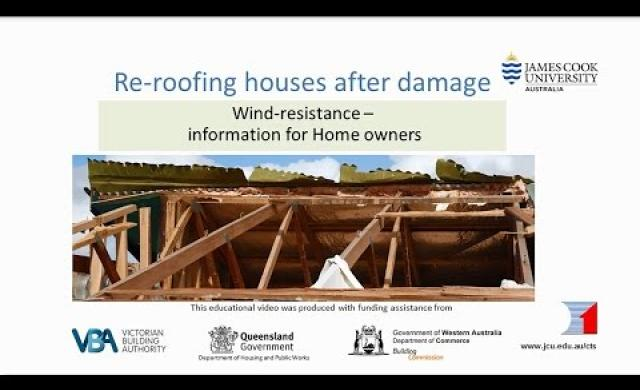 Owners - Re-roofing after Storm Damage