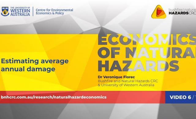 Estimating average annual damage | Economics of natural hazards (6/10)