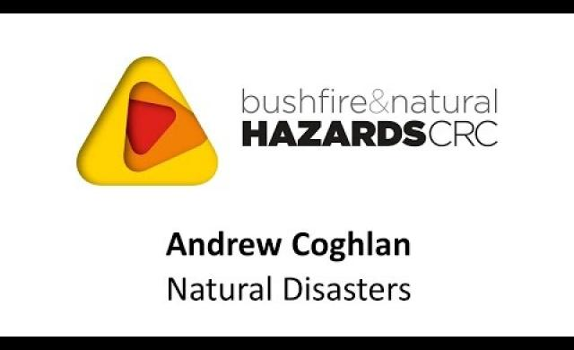 Andrew Coghlan - Australian Red Cross - natural disasters