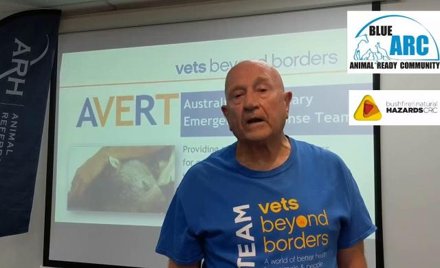 Vets Beyond Borders & Blue ARC - Animal Ready Community Bushfire Preparedness