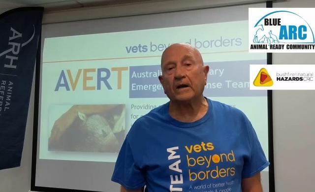 Vets Beyond Borders & Blue ARC - Animal Ready Community Bushfire Preparedness