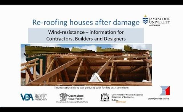 Builders - Re-roofing after Storm Damage