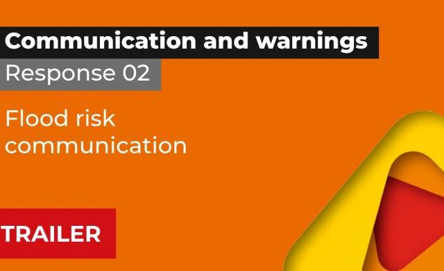 Trailer, Response 2: Flood risk communication