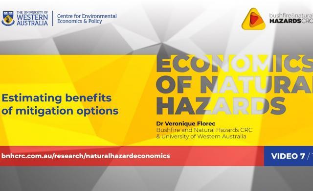 Estimating benefits of mitigation options | Economics of natural hazards (7/10)