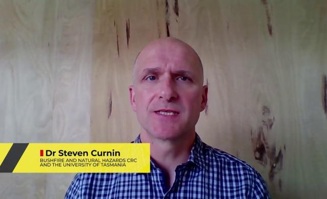 Dr Steven Curnin - early career researcher entry 2018