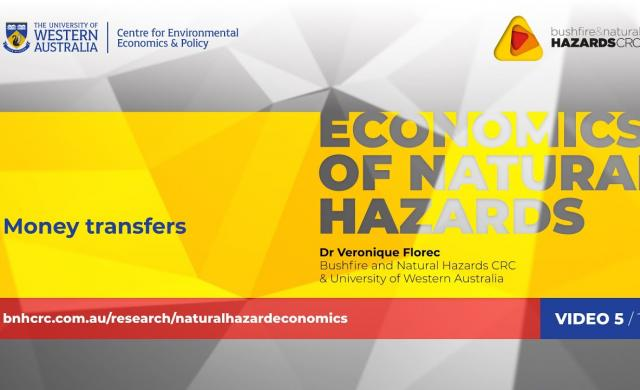 Money transfers | Economics of natural hazards (5/10)