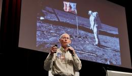 Former NASA astronaut Mike Mullane talking about the 1986 Challenger disaster.