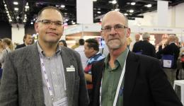 CRC researchers A/Prof Michael Eburn and Prof Steve Dovers.
