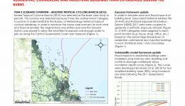 Realistic disaster scenario analysis: North QLD cyclone