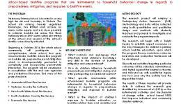 Child-centred disaster risk reduction: A longitudinal investigation of bushfire education