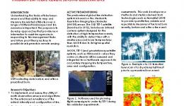 Disaster landscape attribution: Thermal anomaly and hazard mapping