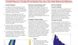 Realistic Disaster Scenarios: Severe Tropical Cyclone SE QLD