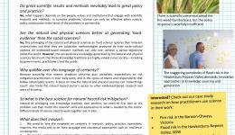 Scientific knowledge Q and A