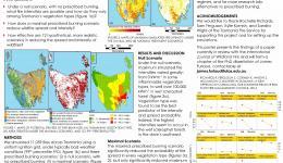 Simulating the effectiveness of prescribed burning at altering wildfire behaviour in Tasmania