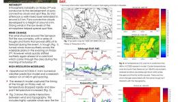Meteorology of the Sampson Flat Fire in January 2015