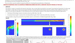 Refinement and Validation of Firebrand Transport Sub Model for a Physics Based Bushfire Prediction Model: Design of  a Firebrand Generator
