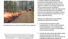 Delivering Effective Prescribed Burning Across Southern Australia