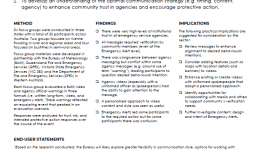 Community Trust and Responses to Multi-Agency Warnings