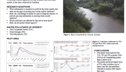 Predicting Water Quality Parameters in Latrobe catchment using eWater Source