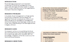 Flood assessment in urban areas