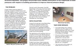 Reducing wind damage to buildings by improving internal pressure design