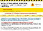 Natural Hazards Exposure Information Framework - a step towards national consistency