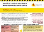 Navigating scientific uncertainty in bushfire and flood risk mitigation
