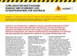 A pre-disaster multi-hazard damage and economic loss estimation model for Australia