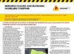 Bringing hazard and economic modellers together