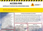 Access-fire: Australia's coupled fire-atmosphere model