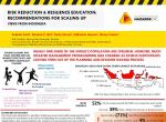 Risk Reduction and Resilience Education: Recommendations for Scaling Up. Views from Indonesia