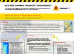 How Risk Informs Emergency Management: A Study of the Interface Between Risk Modelling for Tsunami Inundation and Emergency Management Policies and Procedures