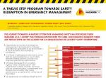 A Twelve Step Program Towards Safety Redemption in Emergency Management