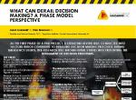 What can derail decision making? A phase model perspective