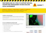 Risk modelling as a tool to support natural hazard risk management in New Zealand local government