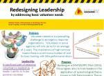 Redesigning leadership by addressing basic volunteer needs