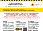 Assessing ecological risk with indigenous communities: Tropical savannas Northern Australia