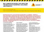 Next generation models for predicting the behaviour of bushfires: Challenges and prospects